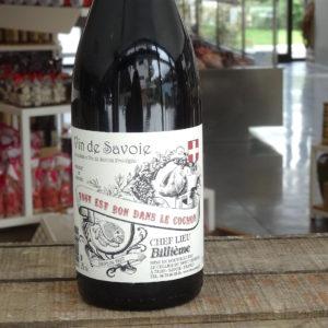 etiquette vin tout est bon dans le cochon alpes