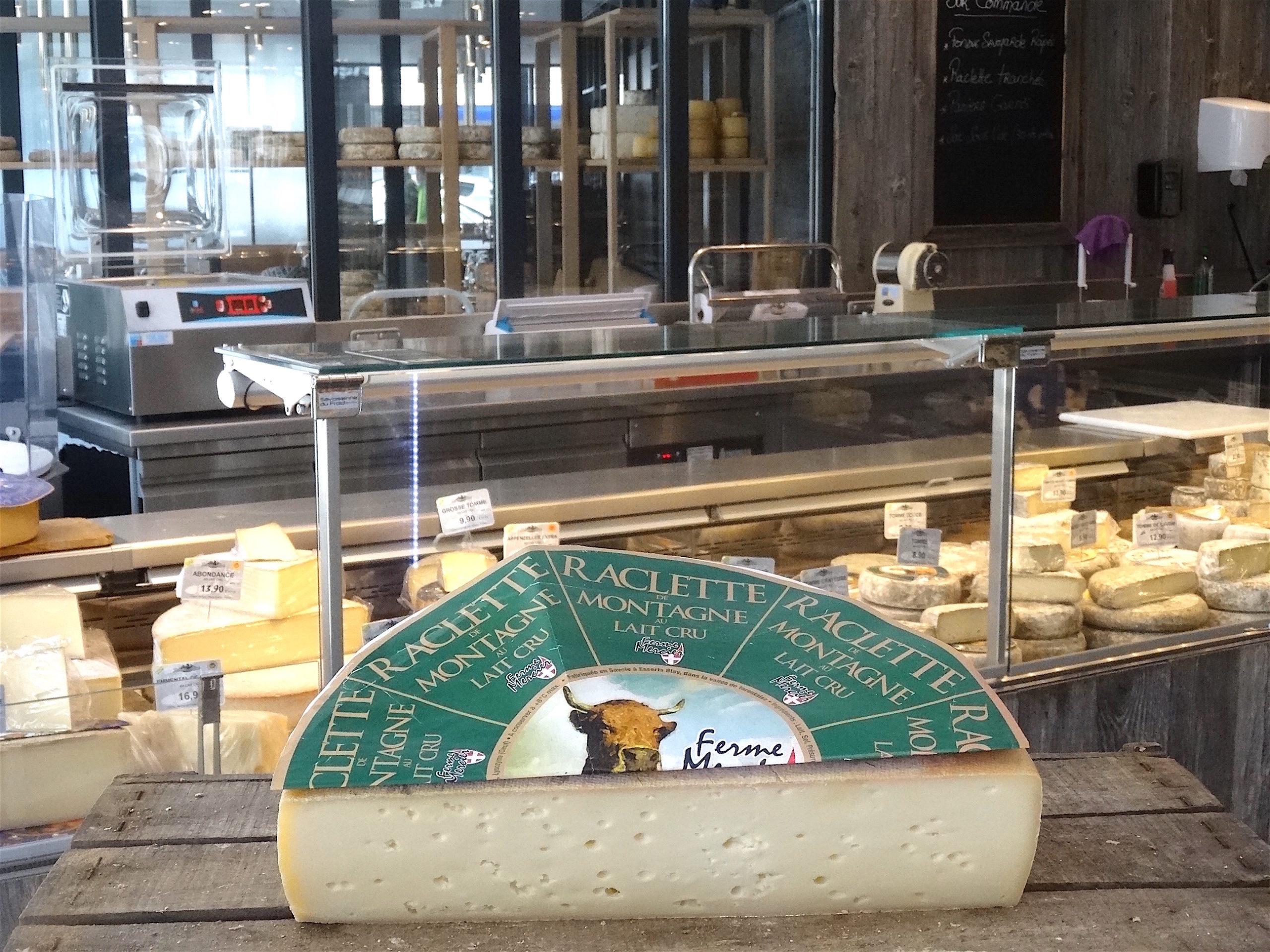 raclette nature lait cru fromage savoie