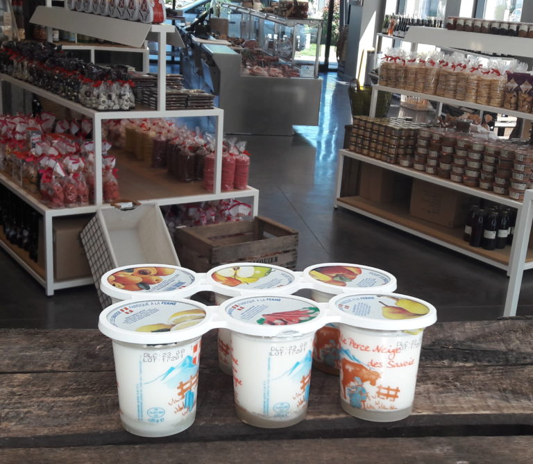 6 yaourts fruits jaunes savoie