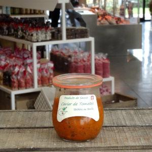 caviar tomates basilic savoie terroir