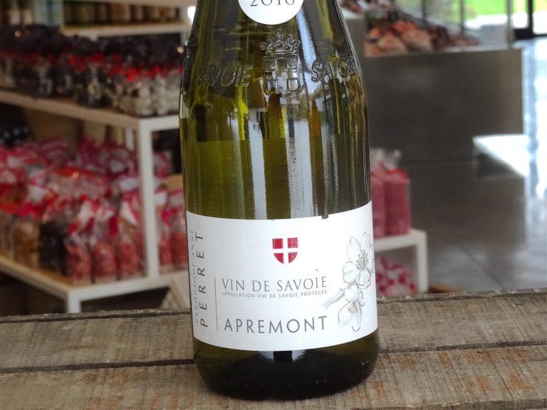 vin savoie apremont etiquette