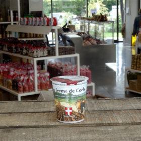 yaourts savoie fraises